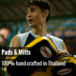 Pads & Mitts - 100% hand-crafted in Thailand