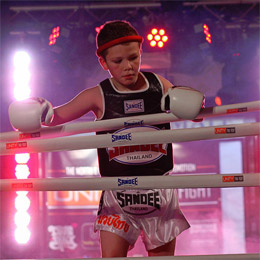 Kids Combat Sports Gear by SANDEE