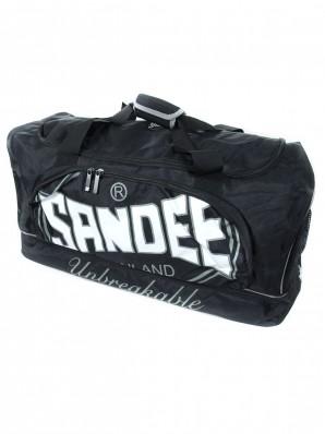 Sandee Large Heavy-Duty Black & Grey Holdall / Gym Bag