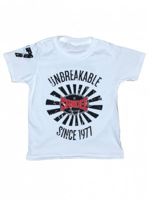 NEW Sandee 2017 Unbreakable White T-Shirt