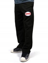 Sandee Black Fleece Track Pant / Jogging Bottoms