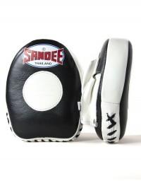 Sandee Leather Black & White Mini Focus Mitt
