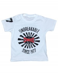 NEW Sandee 2017 Unbreakable White T-Shirt