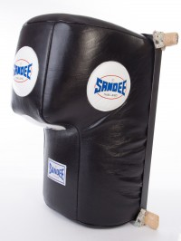 Sandee Black Full Leather Upper Cut Wall Unit