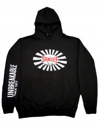 NEW Sandee 2017 Unbreakable Black Hoody