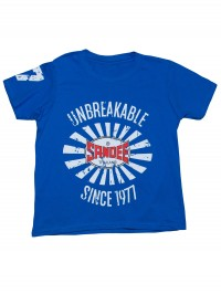 NEW Sandee 2017 Unbreakable Royal Blue Kids T-Shirt
