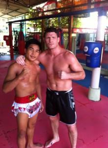 Mike Bisping Thailand Keatkhamtorn