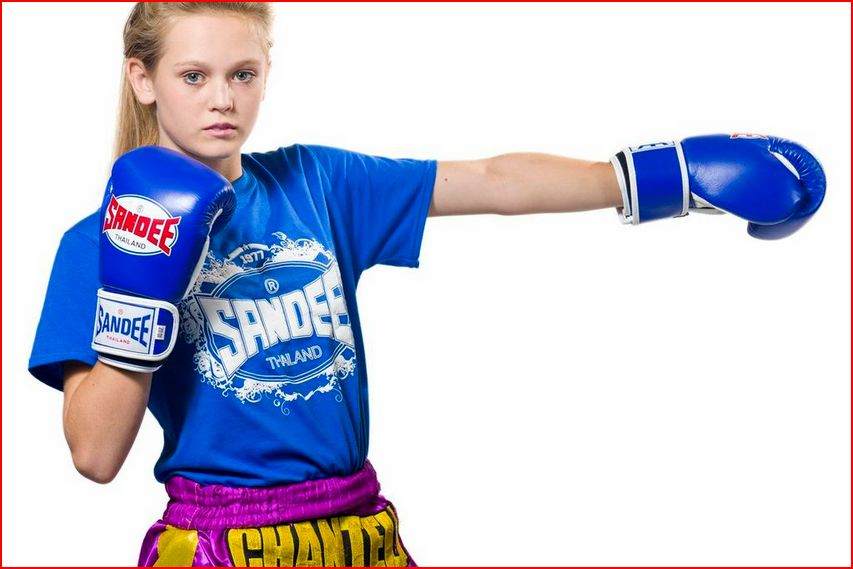 Chantelle Tippett Muay Thai Fighter