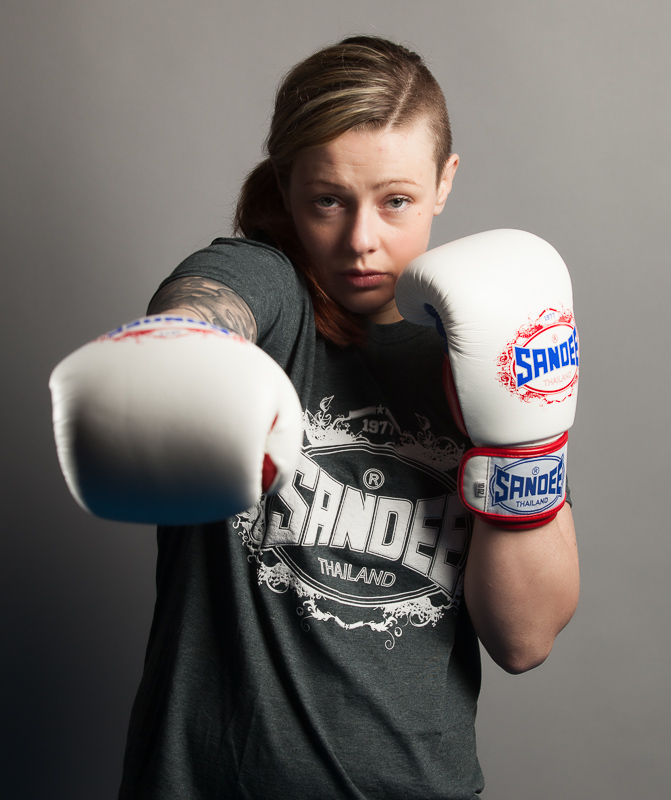 Team SANDEE Fighter JoJo Calderwood