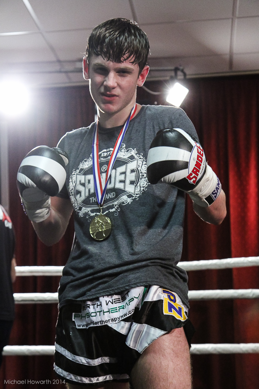 Tyler Liptrot Muay Thai Fighter