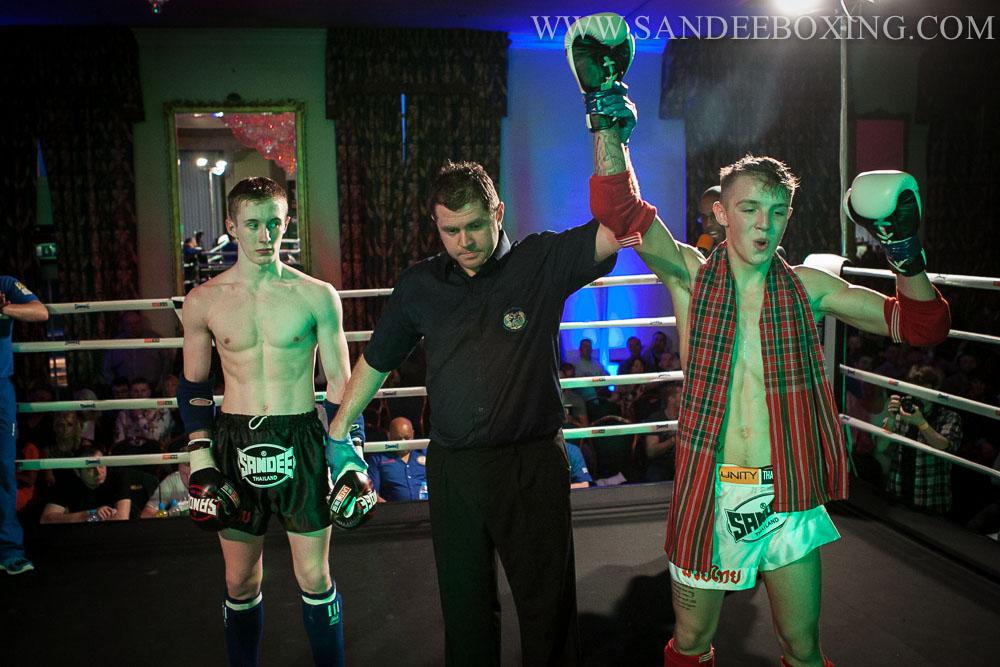 Jordan Williams Sandee Thai Boxing