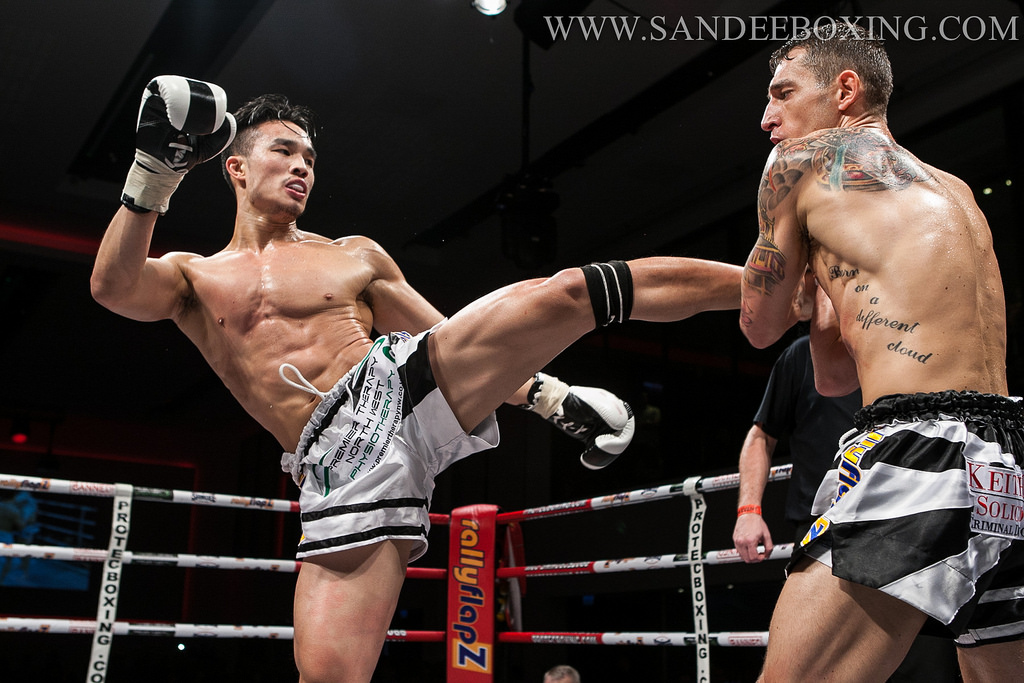 Muay Thai Perfect Roundhouse Kick