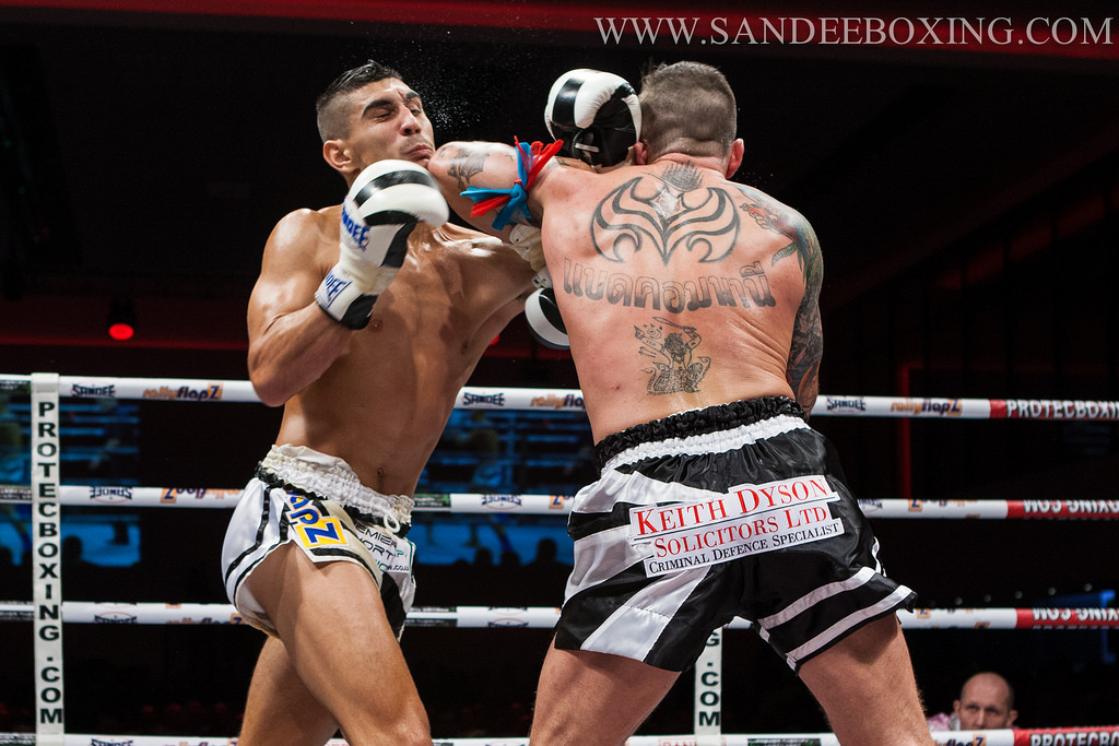 Muay Thai - A Perfectly Timed Elbow