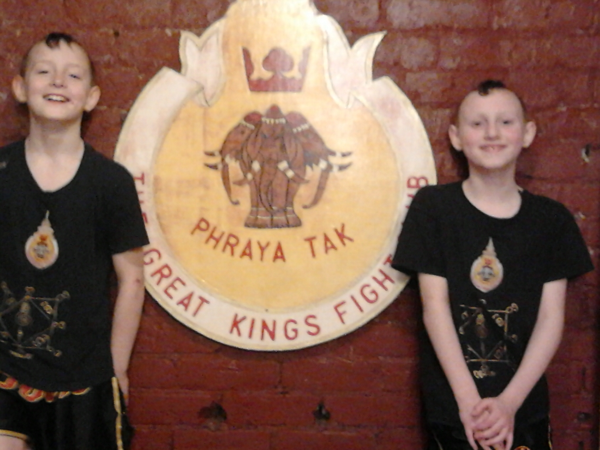 Billy and Stephen Collinge - Great Kings Gym