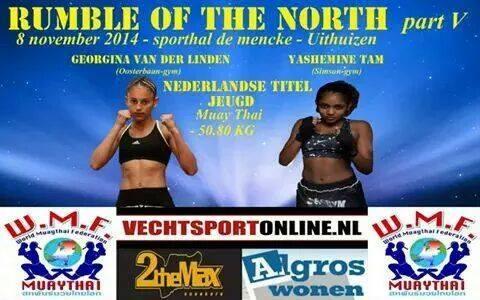 Gerogina van der Linden vs Yashemine Tam
