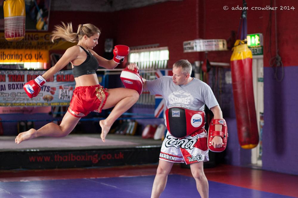 Gemma Atkinson Muay Thai