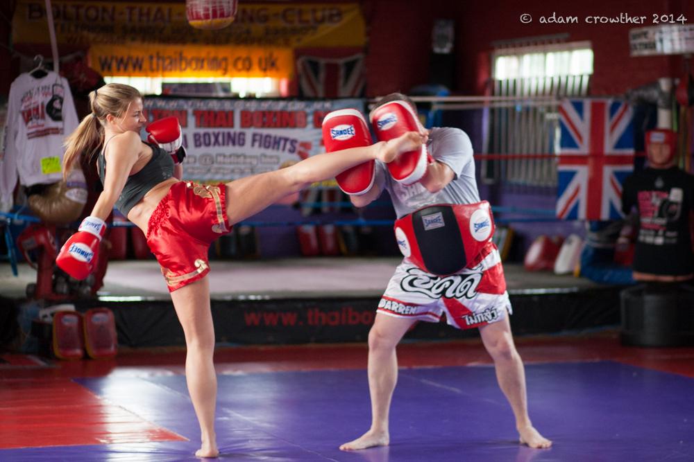 Hick Kick Muay Thai Gemma Atkinson