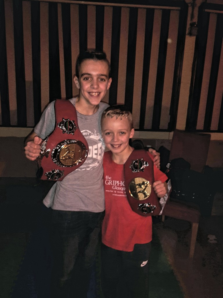 Corey McLachlin wins another Thai boxing belt