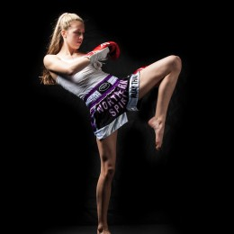 SANDEE signs deal with Muay Thai Fighter Dakota Ditcheva