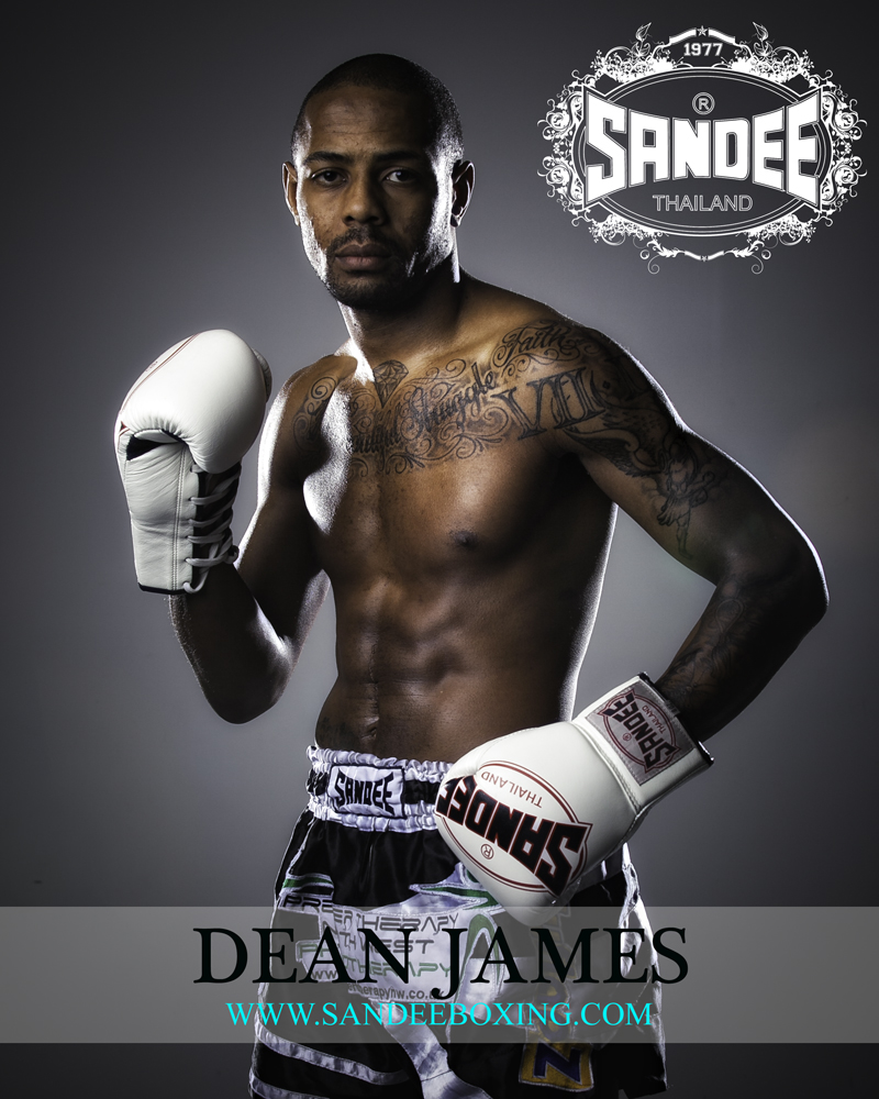 Portrait of Dean James Muay Thai Fighter