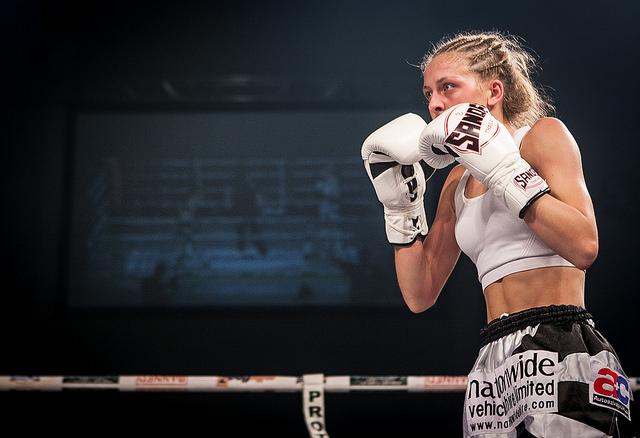 Dakota Ditcheva fighting on the Main Event in 2104