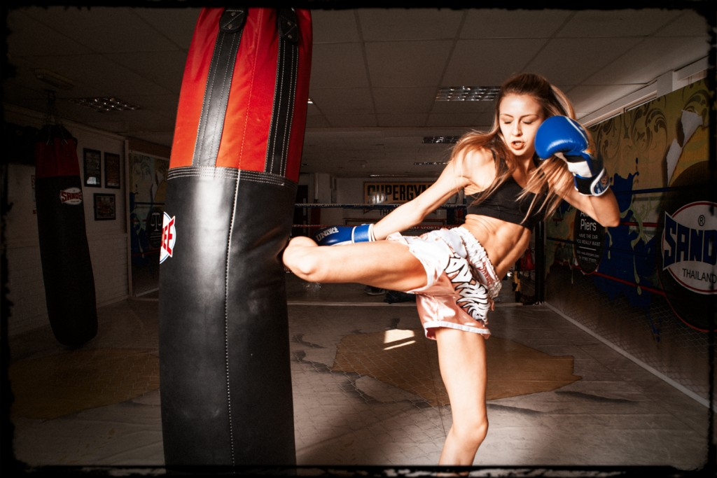 Dakota Ditcheva Muay Thai Fighter