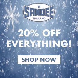 20% off the entire SANDEE range