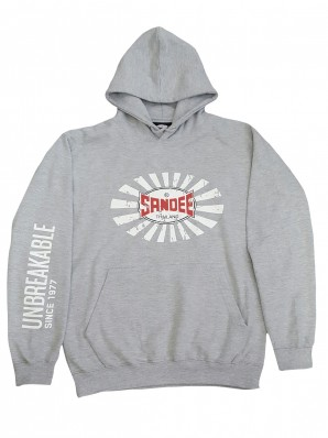 NEW Sandee 2017 Unbreakable Heather Grey Hoody