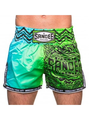 Sandee Warrior Green/Blue Shorts