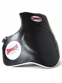 Sandee Leather Black & White Full Body Pad