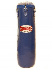 Sandee Blue Full Leather Punch Bag