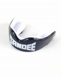 Sandee ADULT Mouthguard - Black/White