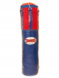 Sandee Blue & Red Half Leather Punch Bag