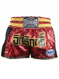 Sandee Red/Carbon/Black/Gold Supernatural Power Shorts