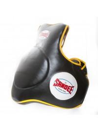 Sandee Leather Black & Yellow Full Body Pad
