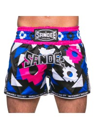 NEW Sandee Inca Black/Blue/White/Pink Shorts