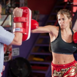Soap Star Gemma Atkinson Training in Muay Thai Boxing to Stay in Shape