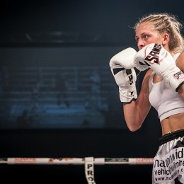 SANDEE Fighter Dakota Ditcheva adds Voice Over to Main Event Promo Trailer
