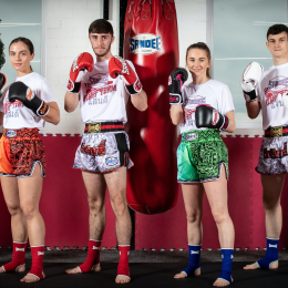 SANDEE LAUNCHES A BRAND NEW FIGHT TEAM